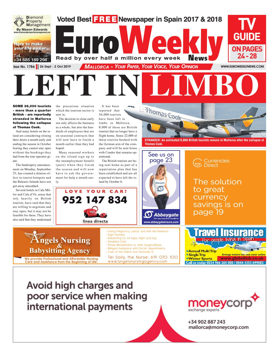 Euro Weekly News Mallorca 6 September 2 October 2019