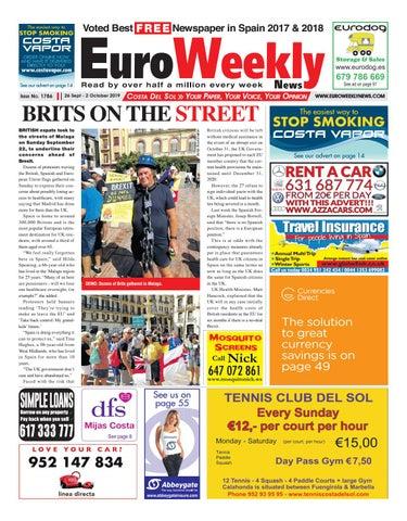 Euro Weekly News Costa del Sol 26 September 2 October