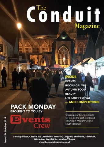 The Conduit Magazine October 2019 by Shelleys the Printers