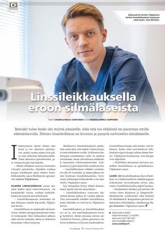 Page 18 of Linssi-leikkauksella  eroon silmälaseista