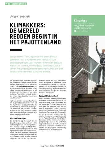Page 22 of Klimakkers: De wereld redden begint in het Pajottenland