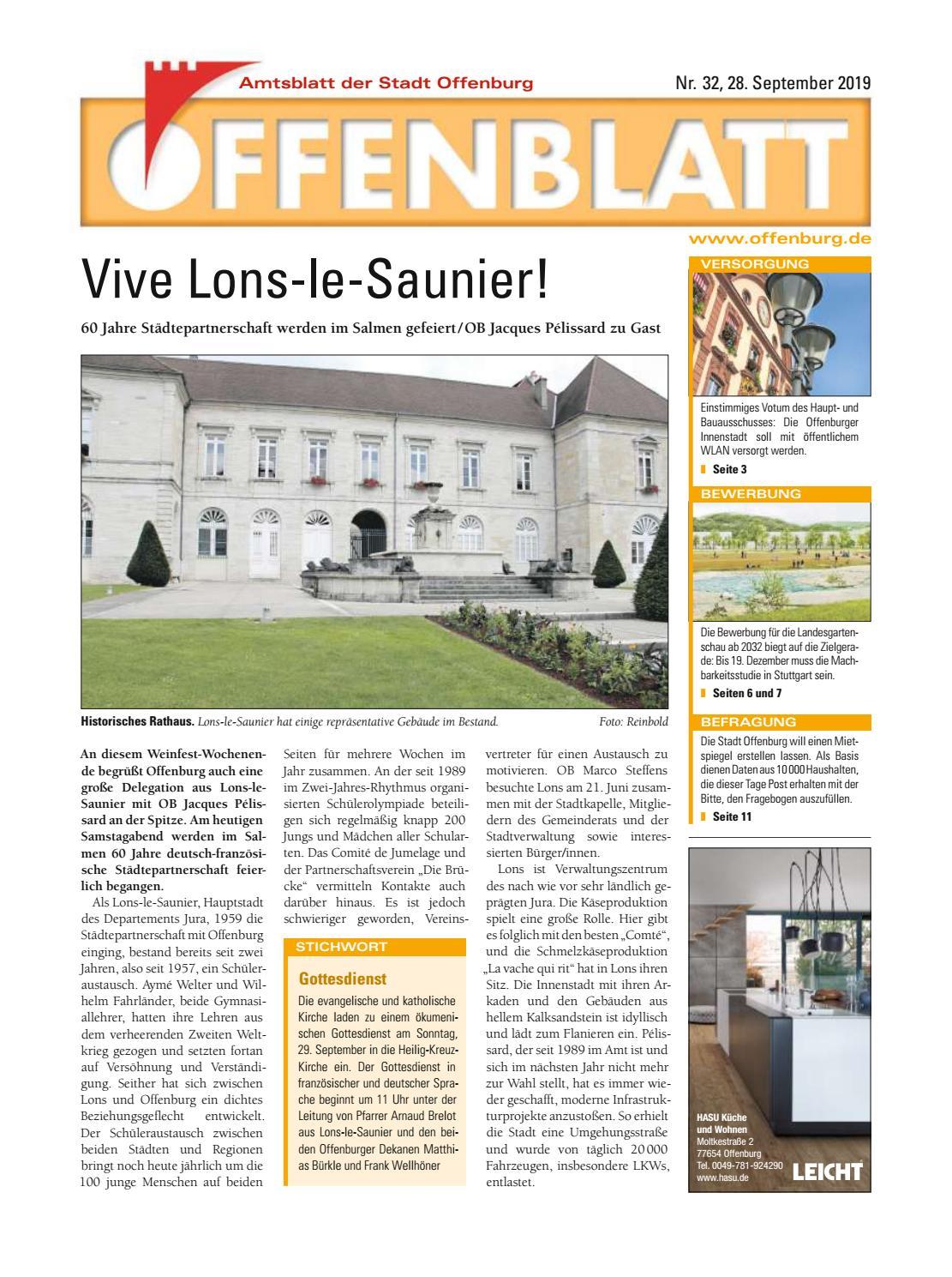 Offenblatt 32 2019 by Offenburg Offenblatt issuu
