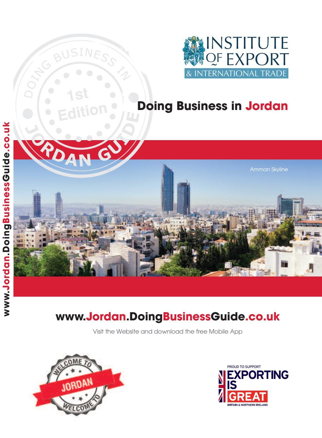 Doing Business In Jordan Guide By