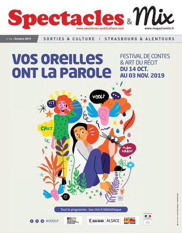 Spectacles Publications Mix Strasbourg N226 Octobre