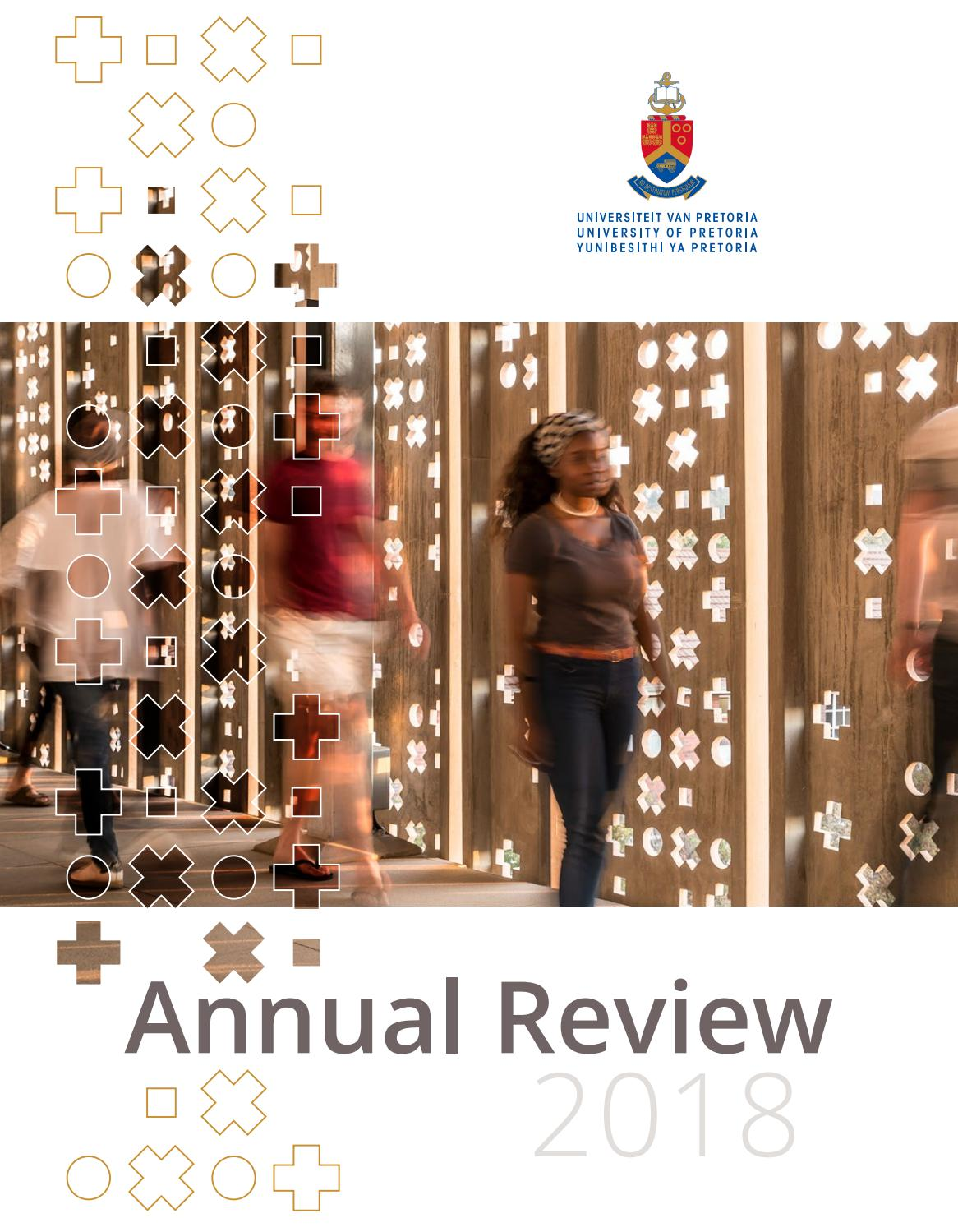 Up Annual Review By University Of Pretoria Issuu