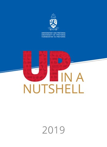 Up In A Nutshell By University Of Pretoria Issuu