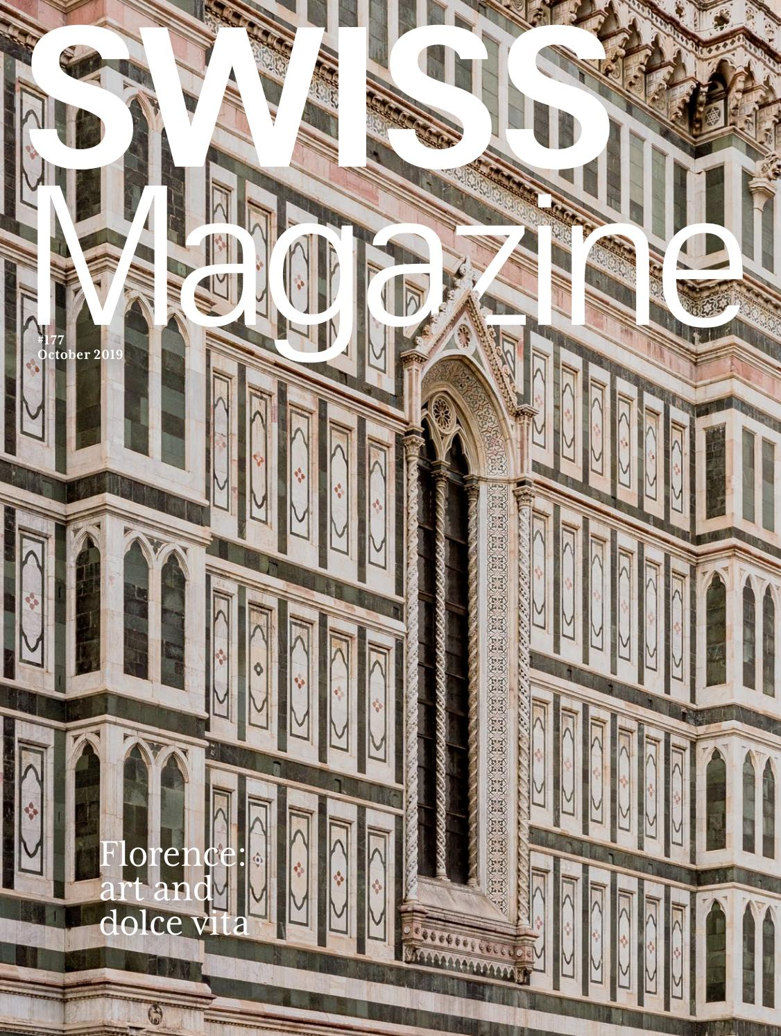 Swiss Magazine October 2019 Florence By Swiss International Air Lines Issuu