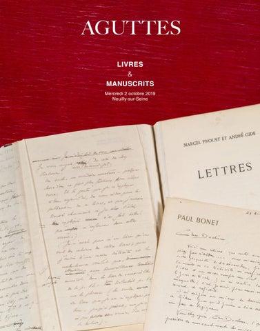 Livres Anciens Et Modernes Manuscrits Et Autographes By
