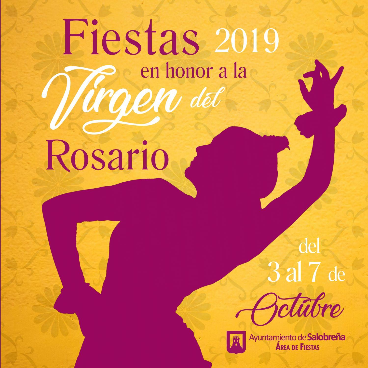 Fiestas Del Rosario 2019 By Turismo De Salobreña Issuu