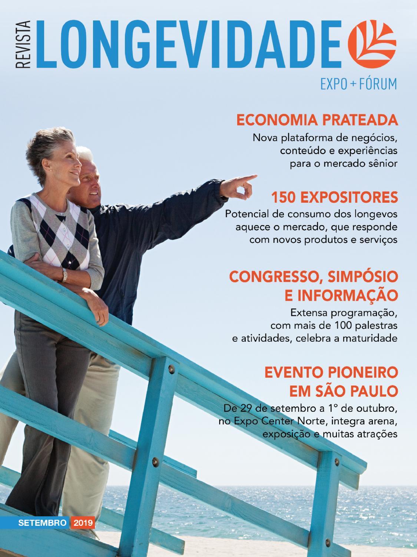 Revista Longevidade Expo Fórum By Sao Paulo Feiras