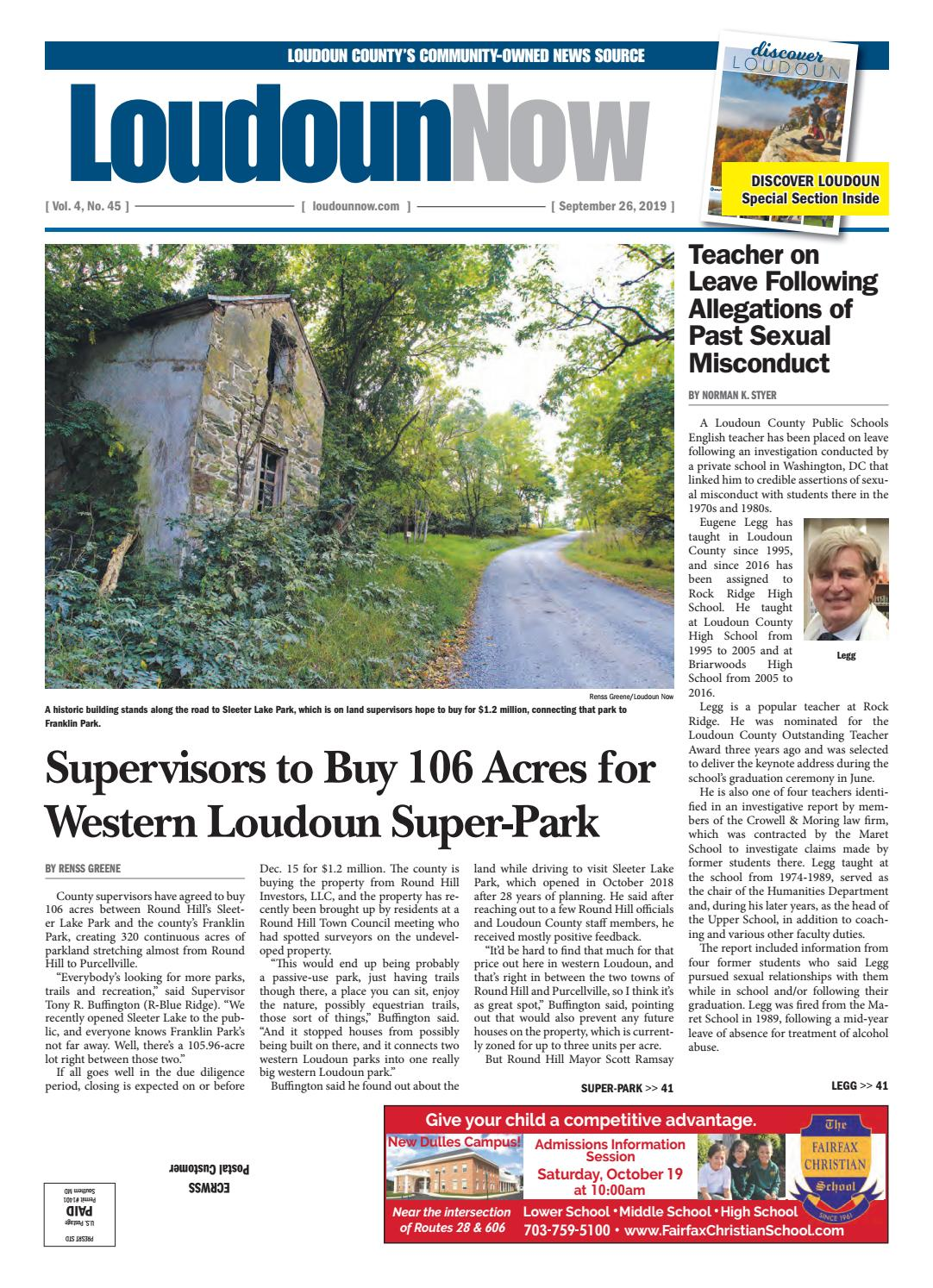 Loudoun Now For Sept 26 2019 By Loudoun Now Issuu