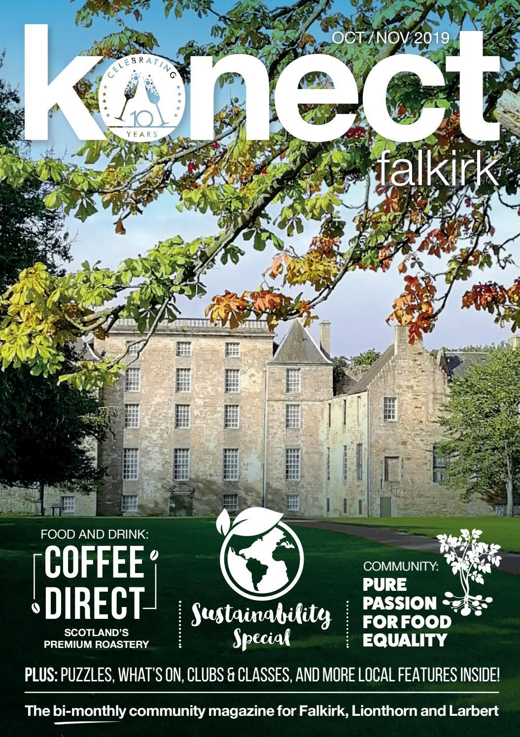 Konect Falkirk Octobernovember 2019 By Konect Magazines Issuu