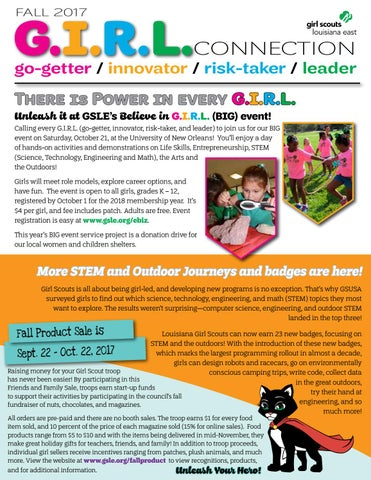 Go getter Innovator Risk taker Leader 2017 badge Girl Scout Fun Patch G.I.R.L