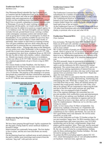 Page 19 of Featherston Red Cross update