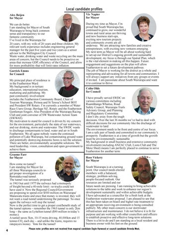 Page 4 of Local candidate profiles