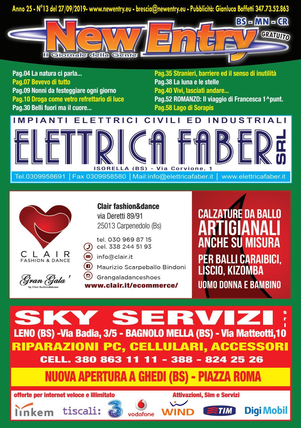New Entry, il Giornale della Gente Edizione di Brescia del