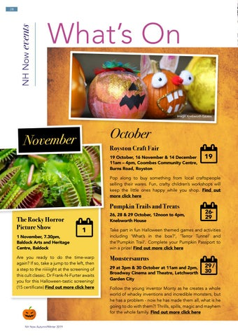 Page 28 of What's on in North Herts this autumn