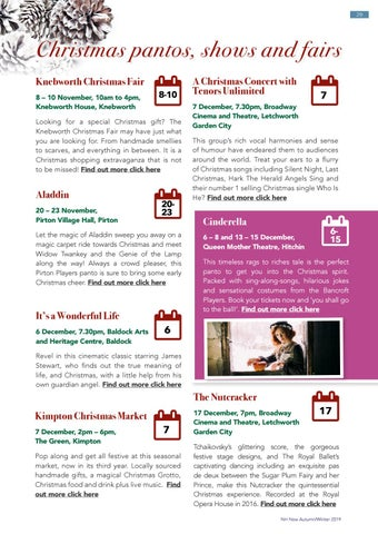 Page 29 of What's on in North Herts this autumn