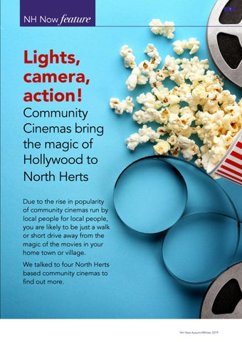 Page 7 of Lights, camera, action! Community Cinemas bring the magic of Hollywood to North Herts