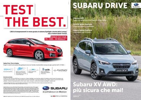 Sistema di retromarcia auto con le linee di distanza Subaru Forester Impreza