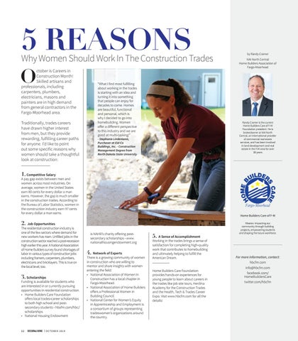 Page 24 of HBA: 5 Reasons Why Women Should Work in the Construction Trades