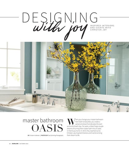 Page 26 of Designing with Joy: Master Bathroom Oasis