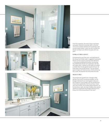 Page 27 of Designing with Joy: Master Bathroom Oasis