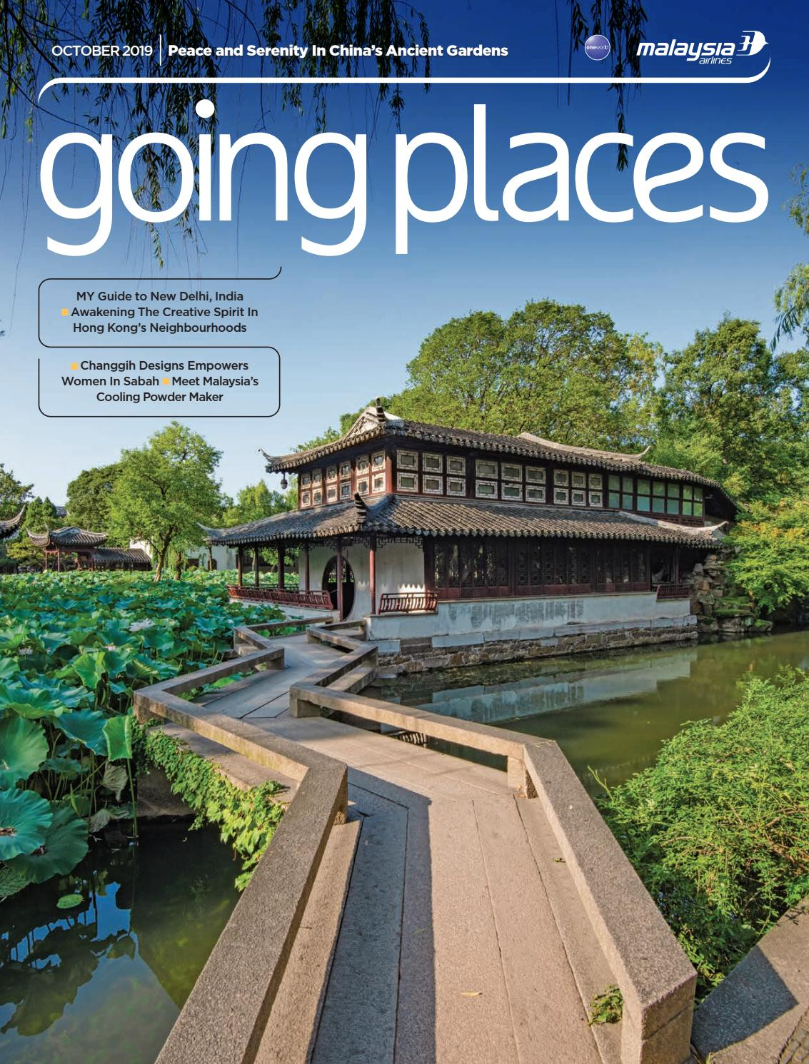 Going Places October 2019 By Spafax Issuu