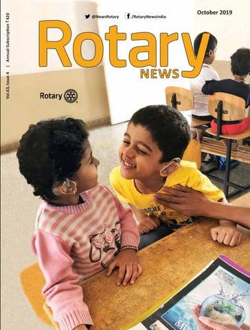 Rotary News - October 2019 by Rotary News - issuu