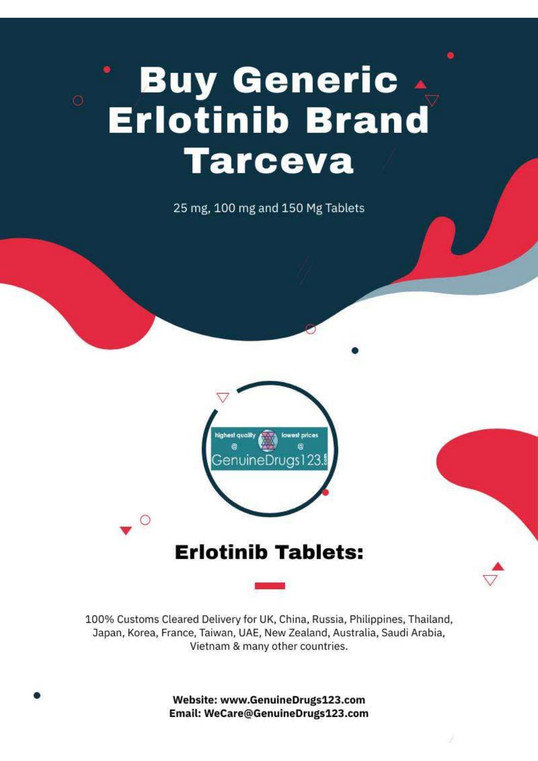 Want To Buy Erlotinib In The Uk Online