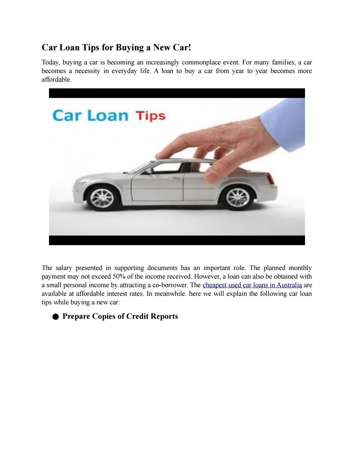 Used Car Loan >> Cheapest Used Car Loans Tips Buying A Car By Aussie Express