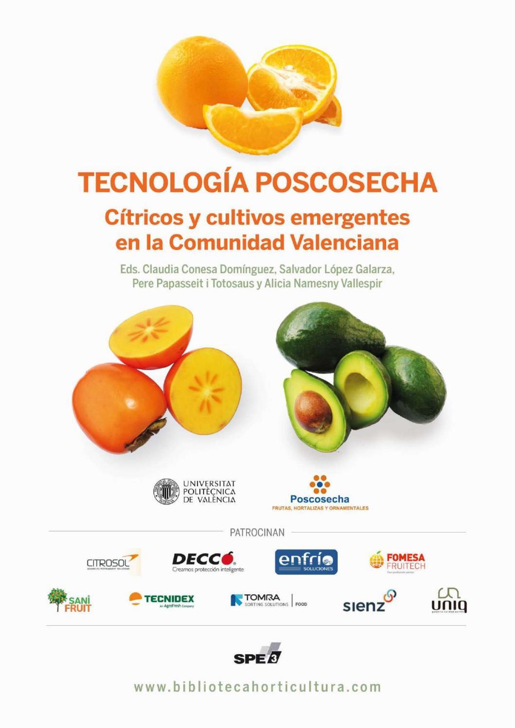 Tecnología Poscosecha Cítricos Y Cultivos Emergentes En La Comunidad Valenciana By Horticultura Poscosecha Issuu