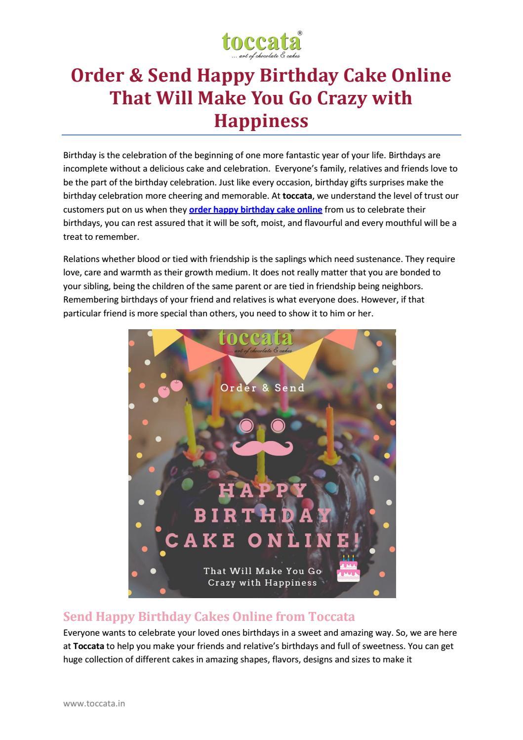 Astonishing Order Send Happy Birthday Cake Online That Will Make You Go Funny Birthday Cards Online Overcheapnameinfo