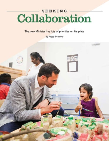 Page 40 of Seeking Collaboration: The new Minister has lots of priorities on his plate