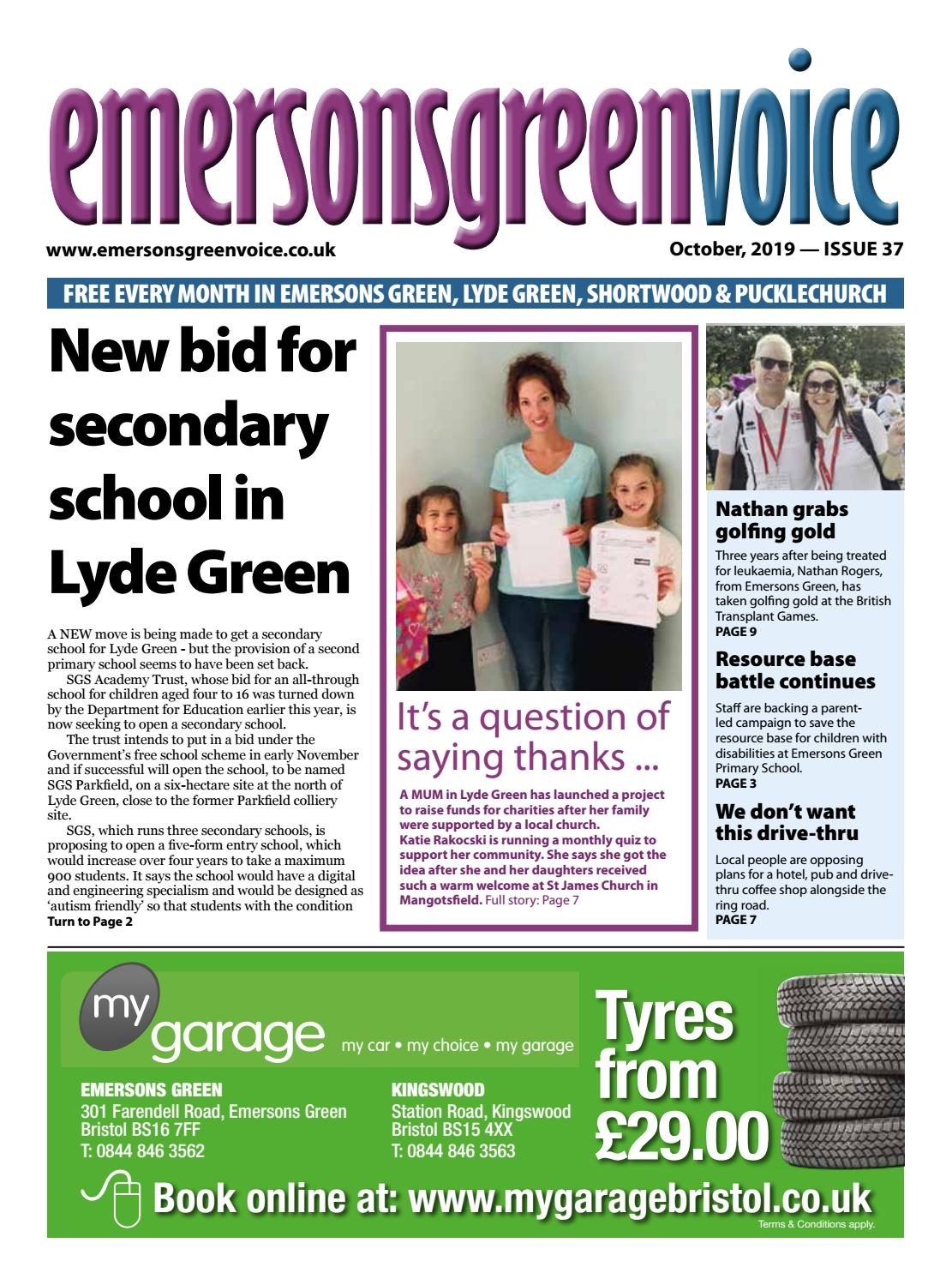 Emersons Green Voice October 2019 By Emersons Green Voice Issuu