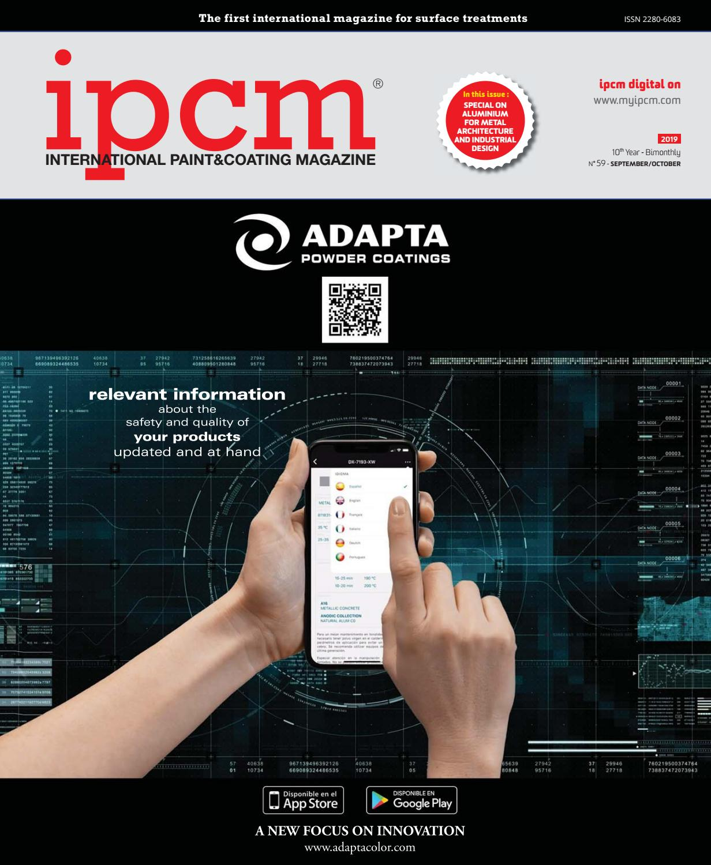 Ipcm N 59 September October 2019 By Ipcm International Paint Coating Magazine Issuu
