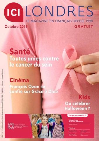Magazine Ici Londres Octobre 2019 By Magazine Ici Londres