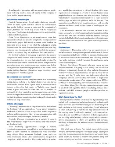Page 13 of Can Social Media Replace Your Organization's Website?