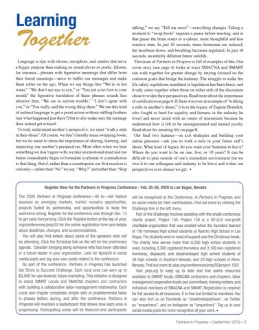 Page 3 of Register Now for the Partners in Progress Conference