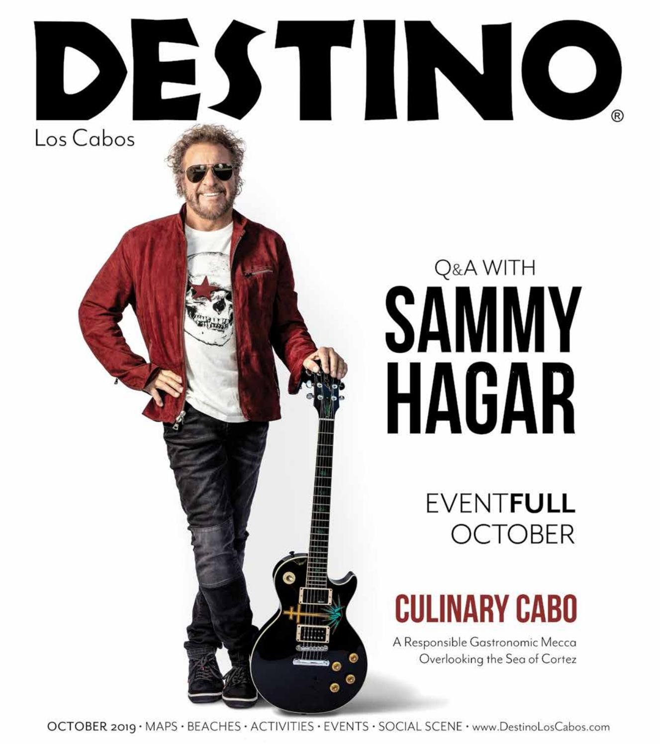 Q A With Sammy Hagar By Destino Magazine Issuu