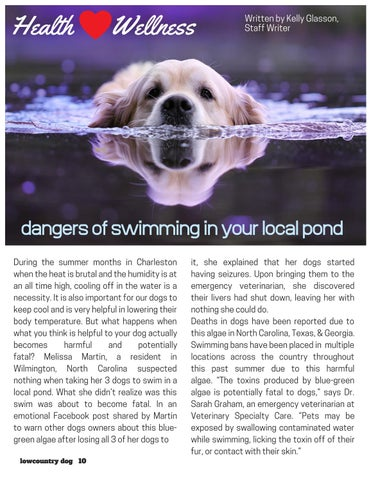 Page 10 of Dangers of Swimming In Your Local Pond