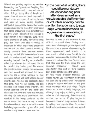 Page 7 of Are Dog Parks Worth The Risk?