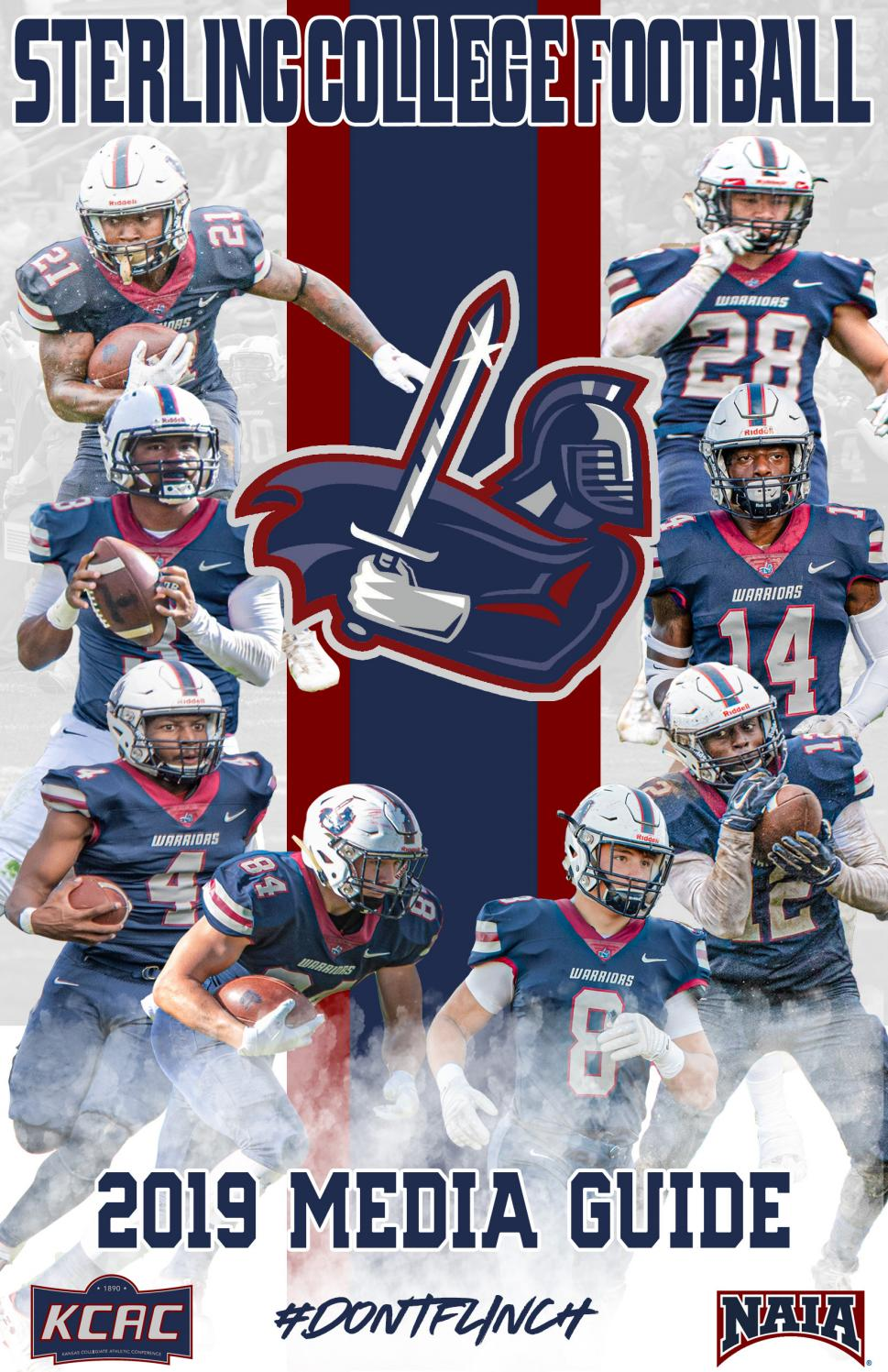 2019 Sterling College Football Media Guide By Sterling College Warrior Athletics Issuu