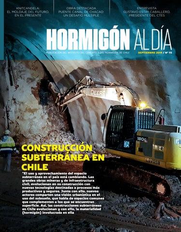 Edición 73 Construcción Subterránea En Chile By Instituto