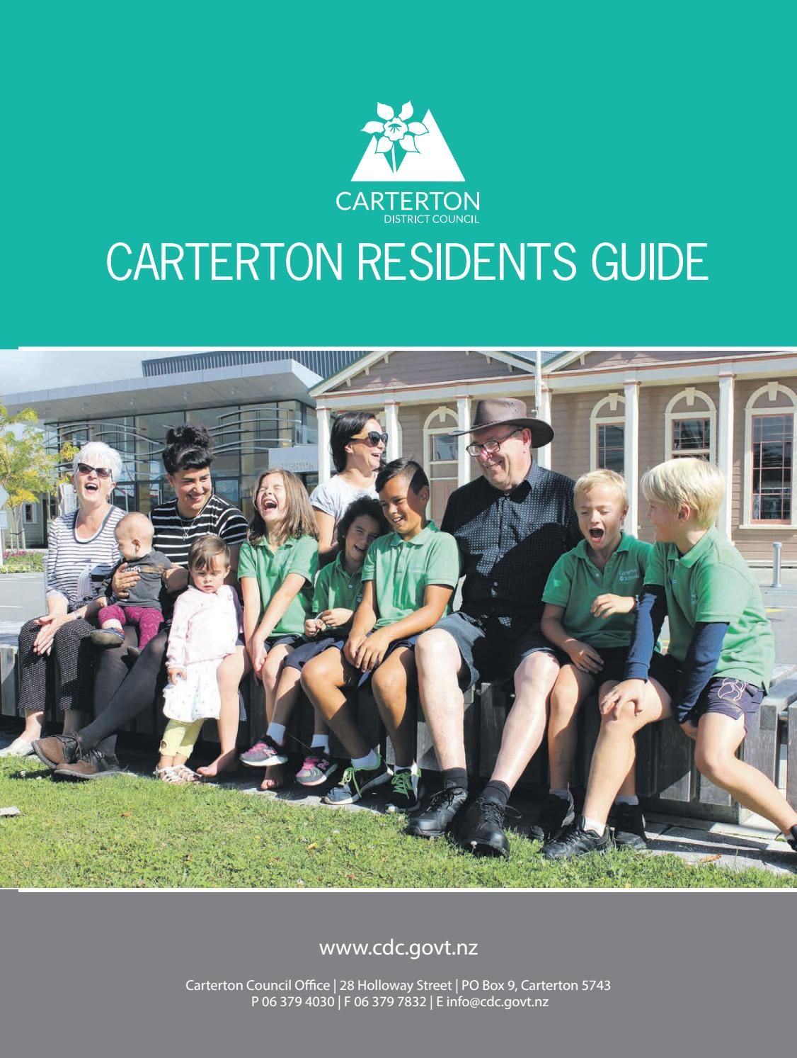 Carterton Residents Guide 2017 by Wairarapa Times-Age - issuu