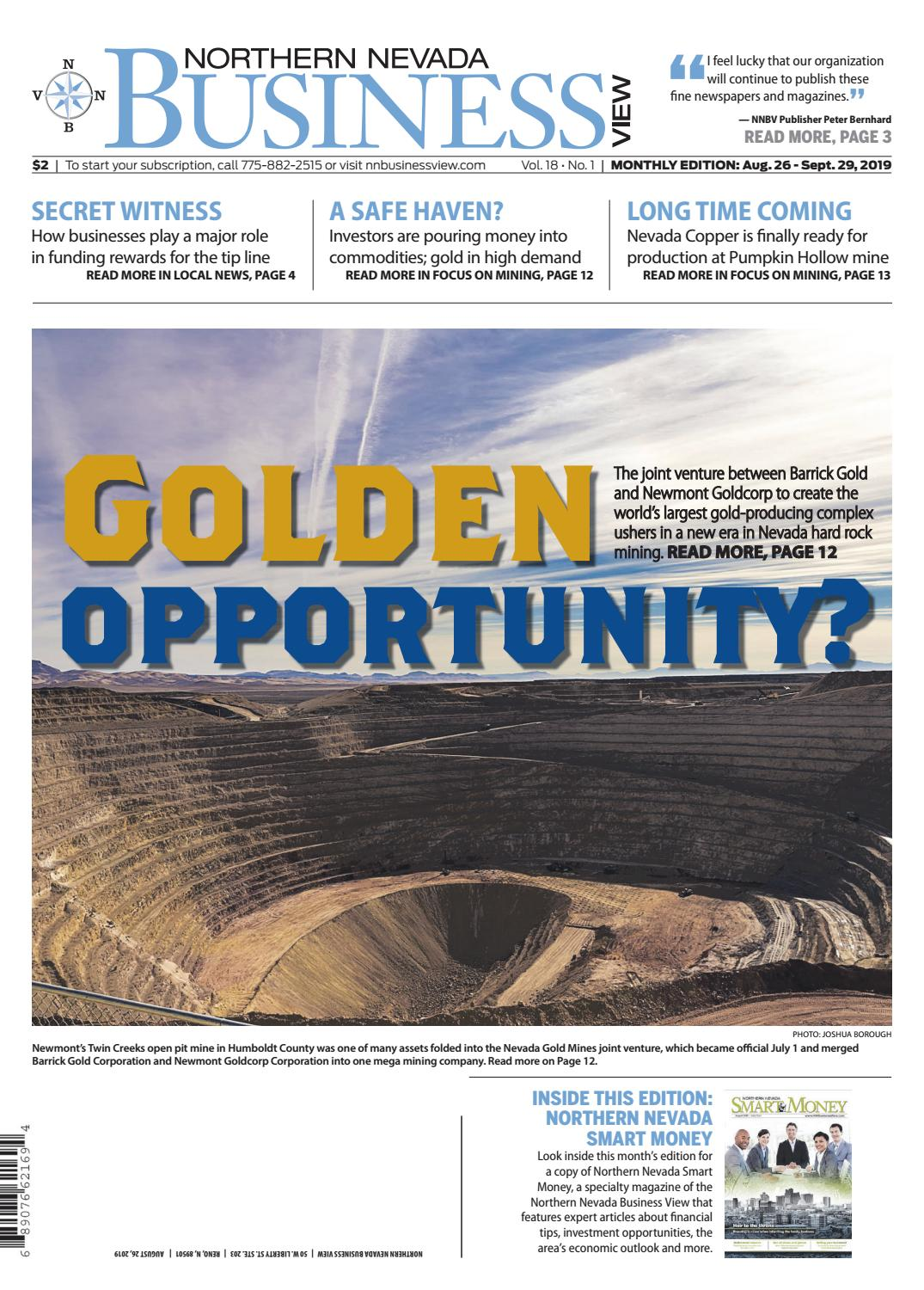 Northern Nevada Business View Aug 26 Sept 29 2019 By Nevada News Group Issuu