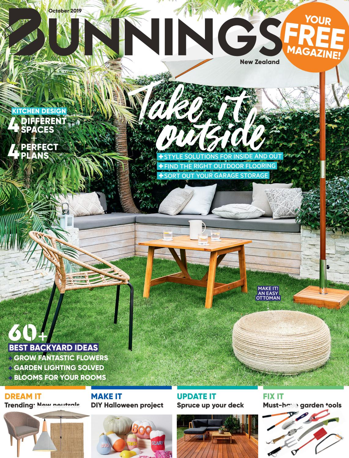 Picture of: Bunnings Magazine Nz October 2019 By Bunnings Issuu