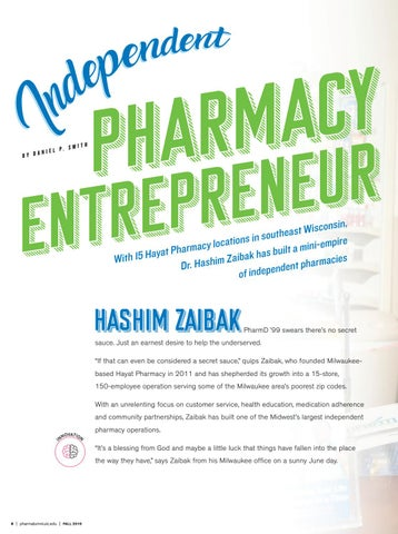Page 10 of Independent Pharmacy Entrepreneur