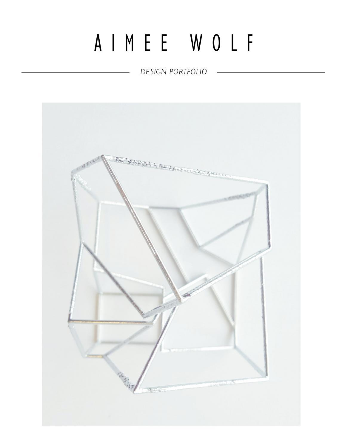 Super Aimee Wolf Design Portfolio By Aimeecwolf Issuu Alphanode Cool Chair Designs And Ideas Alphanodeonline