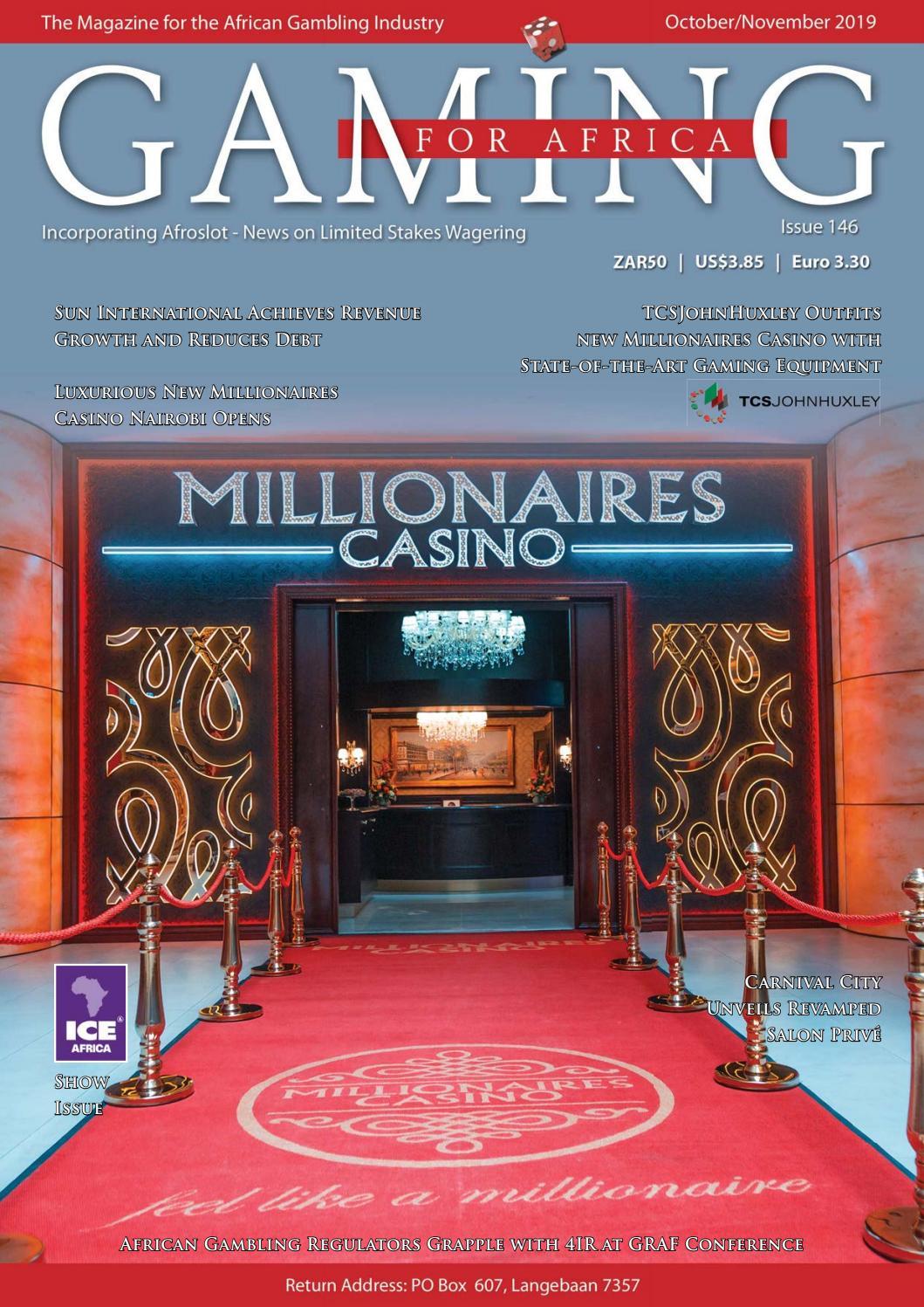 Gaming For Africa Magazine  Nov 2019